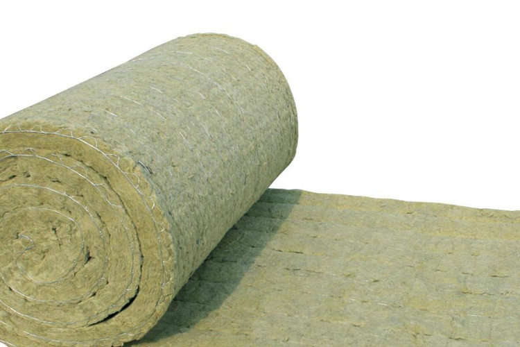 Rock wool blanket mattree GI wire mesh facing