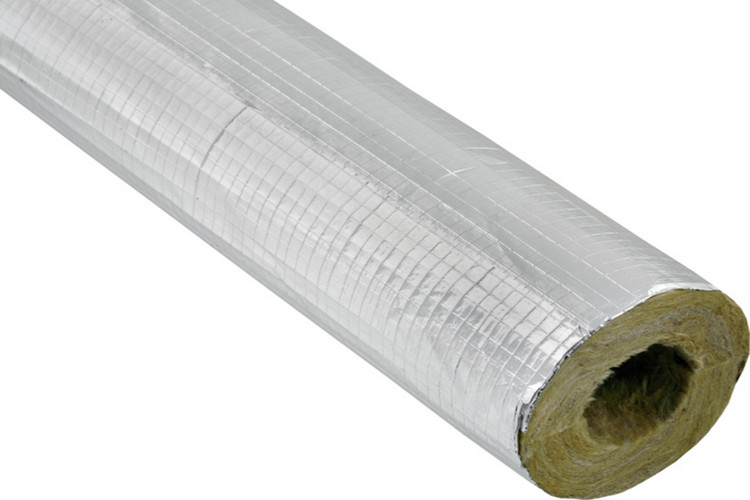Coning rock wool pipe is widely used in pipe insulation for Mineral wool pipe insulation