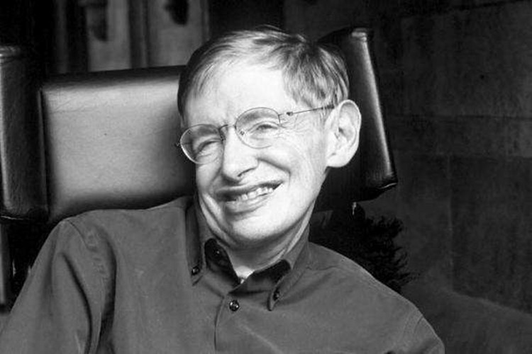 English theoretical physicist Stephen William Hawking